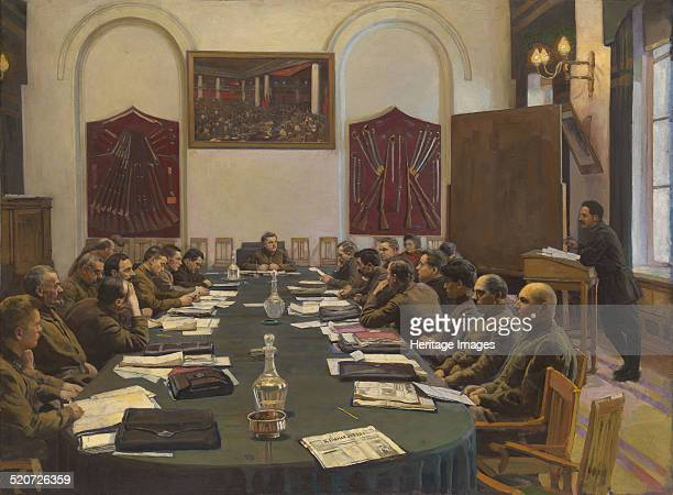Assembly of the Revolutionary Military Council of the USSR Chaired by Kliment Voroshilov Private Collection