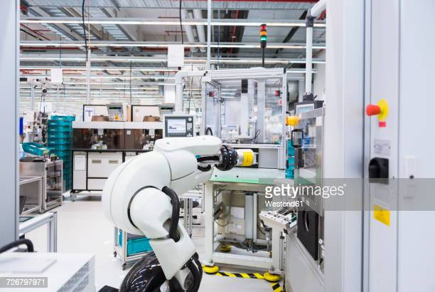 Assembly robot in factory