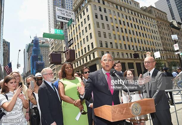 Assemblyman Richard Gottfried NYC Public Advocate Letitia James The New York Times Executive Editor Dean Baquet Nick Nicholson Sharon Coplan Hurowitz...