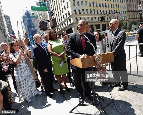 Assemblyman Richard Gottfried, NYC Public Advocate Letitia James, The New York Times Executive Editor Dean Baquet, Nick Nicholson, Sharon Coplan...