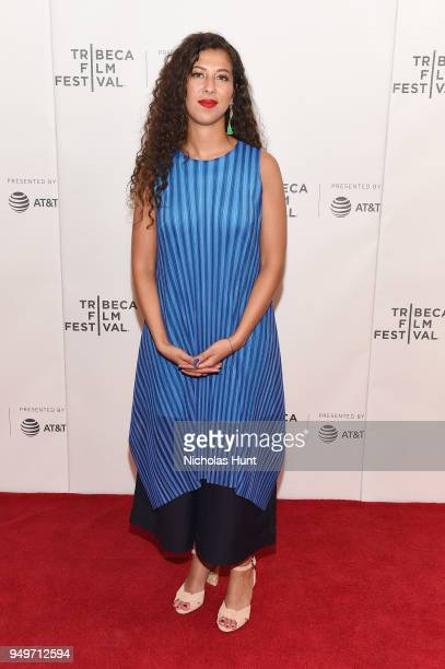 Assia Boundaoui attends a screening of The Feeling of Being Watched during the 2018 Tribeca Film Festival at Cinepolis Chelsea on April 21 2018 in...