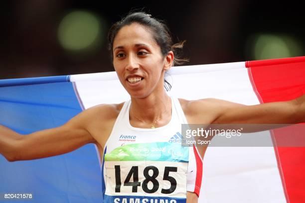 Assia EL HANNOUNI Athletisme 400 metres Jeux Paralympiques de Pekin 2008