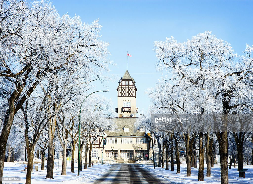 Assiniboine Park Pavilion Winnipeg : Stock Photo