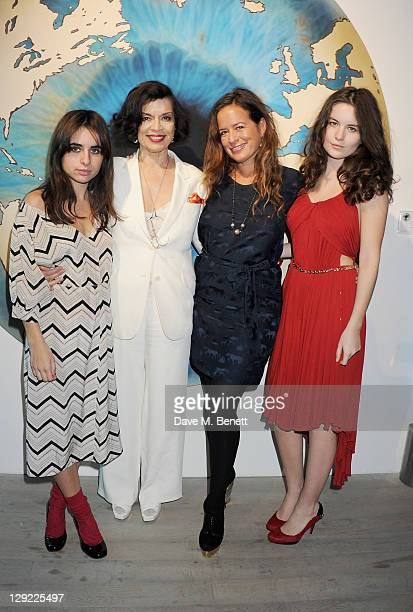 Assisi Jackson Bianca Jagger Jade Jagger and Amba Jackson attend 'Arts For Human Rights' the inaugural Bianca Jagger Human Rights Foundation Gala...