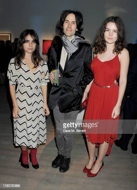 Assisi Jackson Piers Jackson and Amba Jackson attend 'Arts For Human Rights' the inaugural Bianca Jagger Human Rights Foundation Gala supported by...