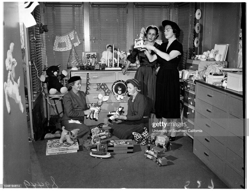 Assistance League Gift Shop, bib and tucker women planning Christmas ...
