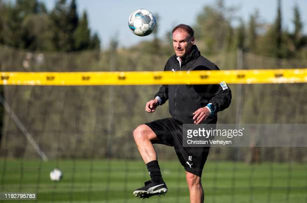 Assistant Coach Alexander Zickler of Borussia Moenchengladbach in action during the Borussia Moenchengladbach Training Camp on January 08 2020 in...