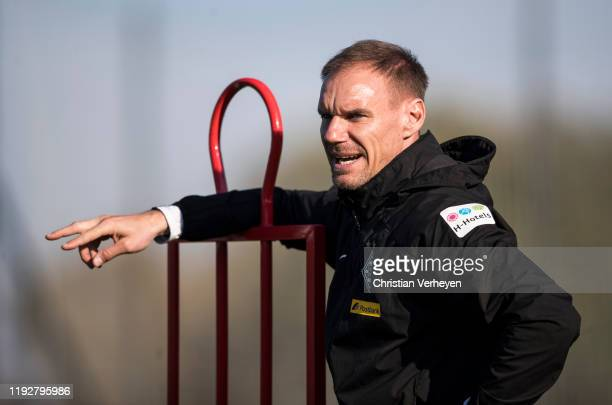 Assistant Coach Alexander Zickler of Borussia Moenchengladbach is seen during the Borussia Moenchengladbach Training Camp on January 09 2020 in Jerez...