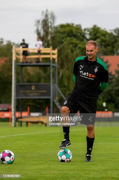 Assistant Coach Alexander Zickler of Borussia Moenchengladbach is seen during the Training Camp of Borussia Moenchengladbach at Klosterpforte on...