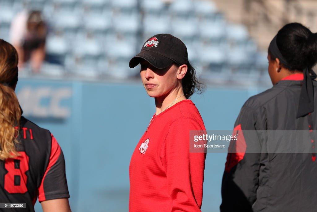 OSU assistant coach Amanda Buchholz  The Ohio State University