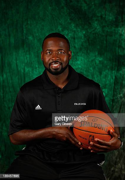 Assistant Coach Anthony Goldwire of the Milwaukee Bucks poses for a portrait during NBA Media Day on December 10, 2011 at the Cousin's Center in St....