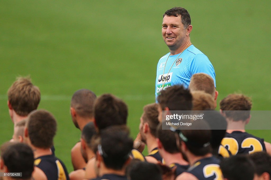 Richmond Tigers Media & Training Session