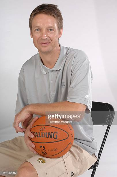 Assistant coach Detlef Schrempf of the Seattle Sonics poses during NBA Media Day on October 2 2006 at the Furtado Center in Seattle Washington NOTE...