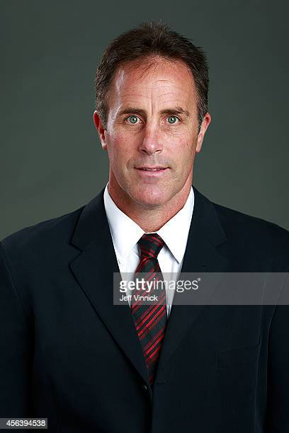 Assistant coach Doug Lidster of the Vancouver Canucks poses for his official headshot for the 20142015 season on September 18 2014 at the Rogers...
