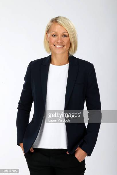 Assistant Coach Erin Phillips of the Dallas Wings poses for a portrait on May 4 2018 at College Park Center in Arlington Texas NOTE TO USER User...
