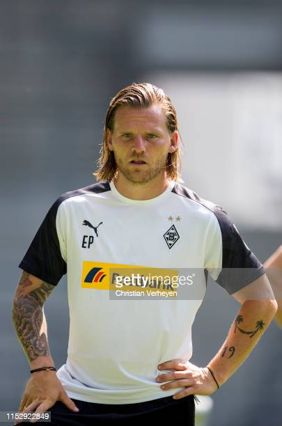 Assistant Coach Eugen Polanski of Borussia Moenchengladbach during a Training Session of Borussia Moenchengladbach at Borussia-Park on June 30, 2019...
