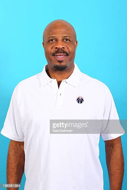 Assistant Coach Gene Banks of the Washington Wizards poses for a portrait during media day at the Verizon Center on December 15 2011 in Washington DC...