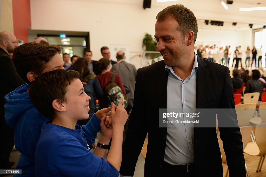 DFB And Commerzbank Launch Junior Coach Program : News Photo