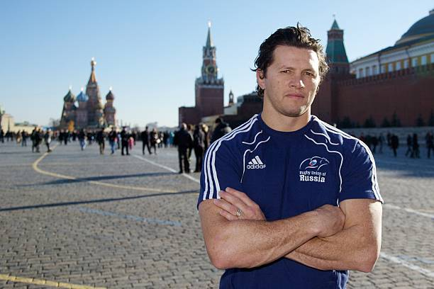 Istant Coach Henry Paul Poses At Red Square On October 31 2010 In Moscow