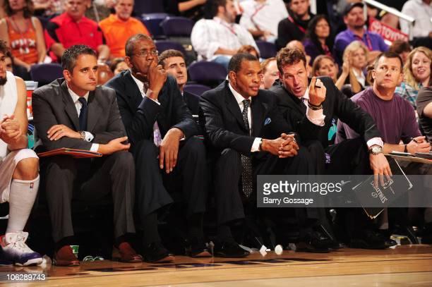 Assistant Coach Igor Kokoskov Assistant Coach Bill Cartwright Player Development coach Nenad Trajkovic Head Coach Alvin Gentry and Assistant Coach...