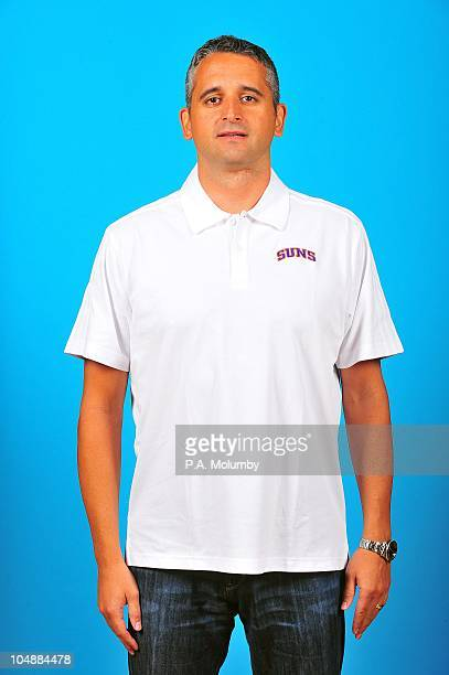 Assistant coach Igor Kokoskov of the Phoenix Suns poses for a portrait during 2010 NBA Media Day on September 27 2010 at US Airways Center in Phoenix...
