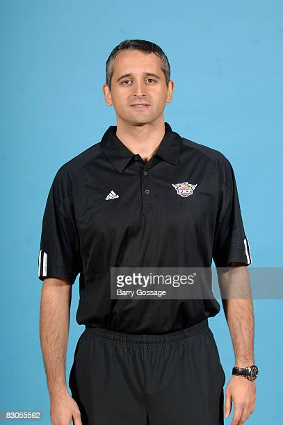 Assistant Coach Igor Kokoskov of the Phoenix Suns poses for a portrait during NBA Media Day on September 29 at U.S. Airways Center in Phoenix,...
