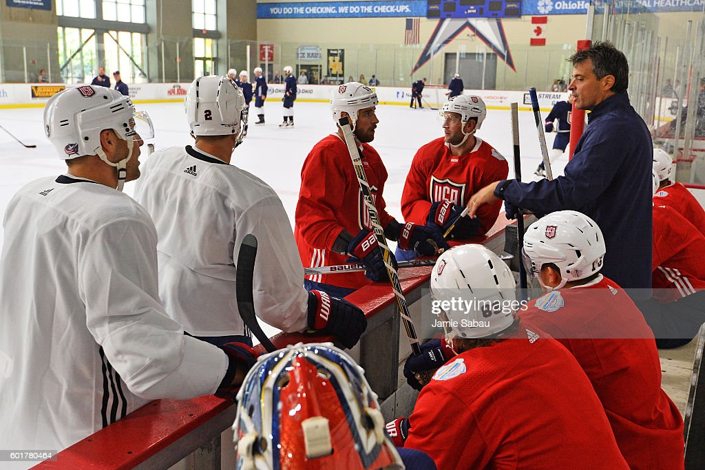 World Cup Of Hockey 2016 - United States - Practice & Press Interviews
