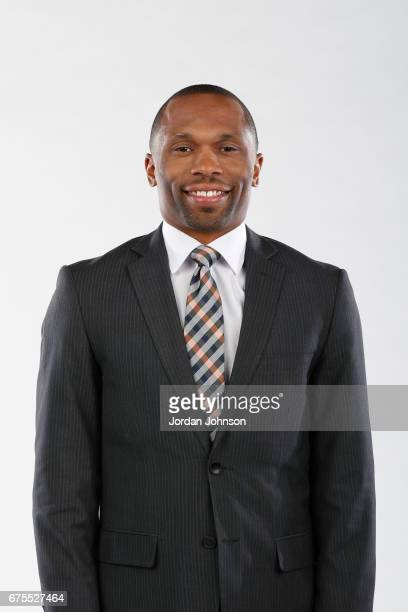 Assistant coach James Wade of the Minnesota Lynx poses for portraits during 2017 Media Day on May 1 2017 at the Minnesota Timberwolves and Lynx...