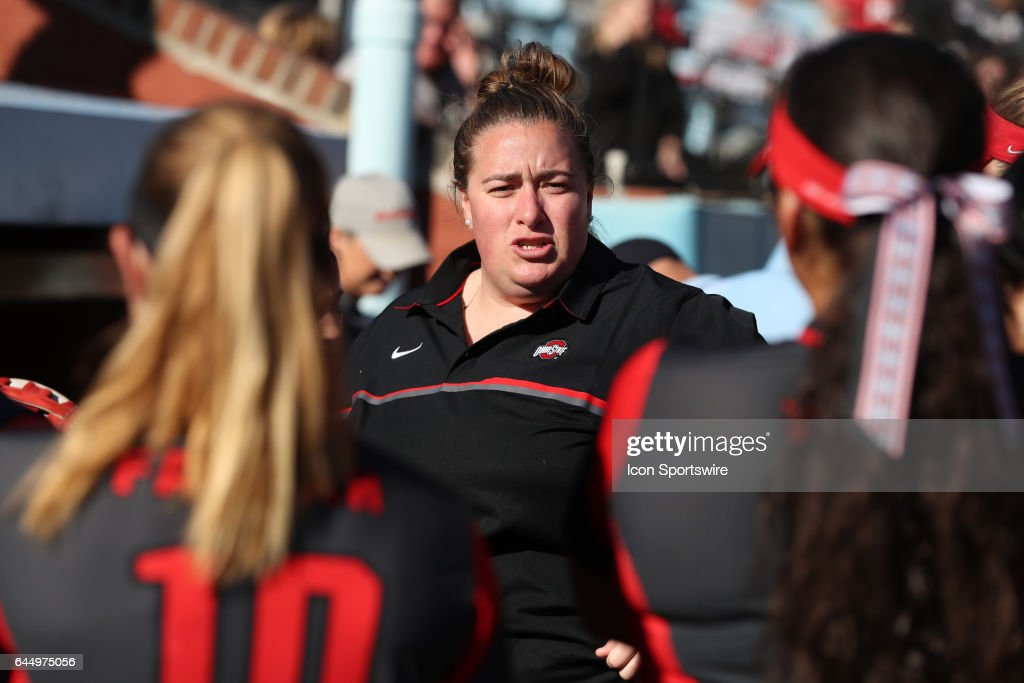 OSU assistant coach Jenna Hall  The Ohio State University Buckeyes