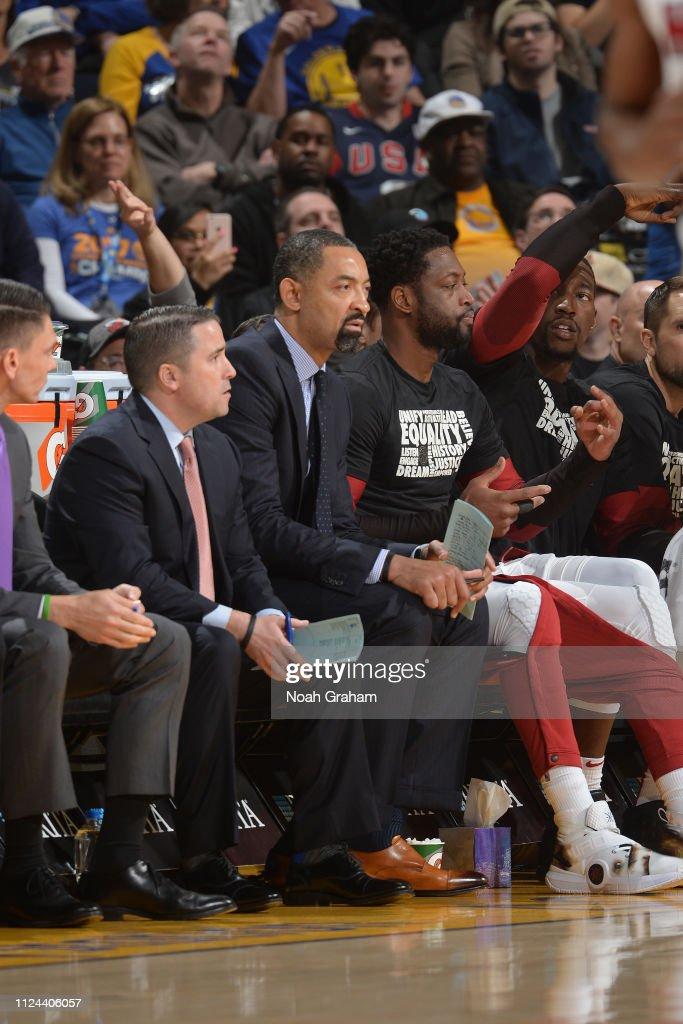 Miami Heat v Golden State Warriors : News Photo