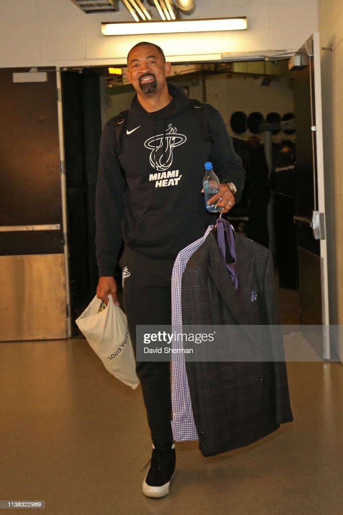 Miami Heat v Minnesota Timberwolves : News Photo