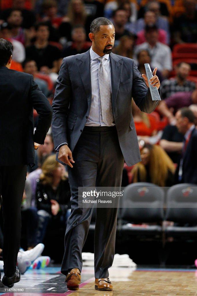 Golden State Warriors v Miami Heat : News Photo