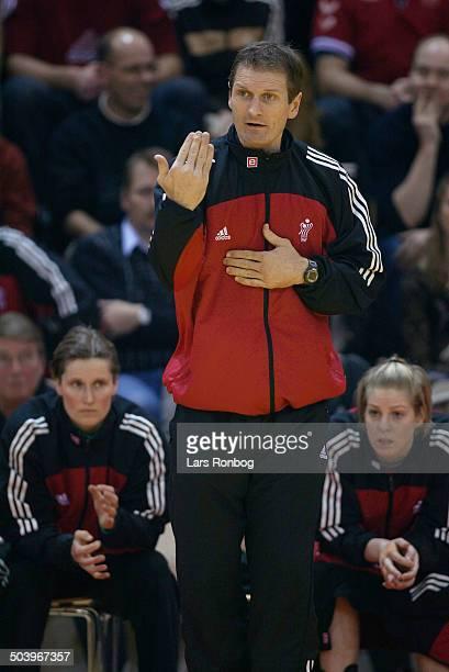 Assistant coach Kim Jensen Denmark