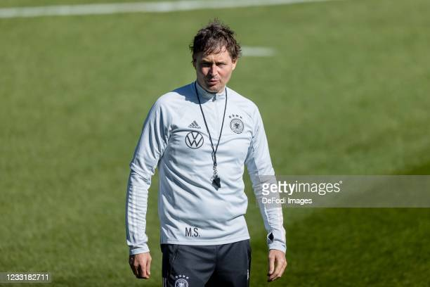 Assistant coach Marcus Sorg of Germany looks on during Day 1 of the Germany Seefeld Training Camp on May 28, 2021 in Seefeld in Tirol, Austria.