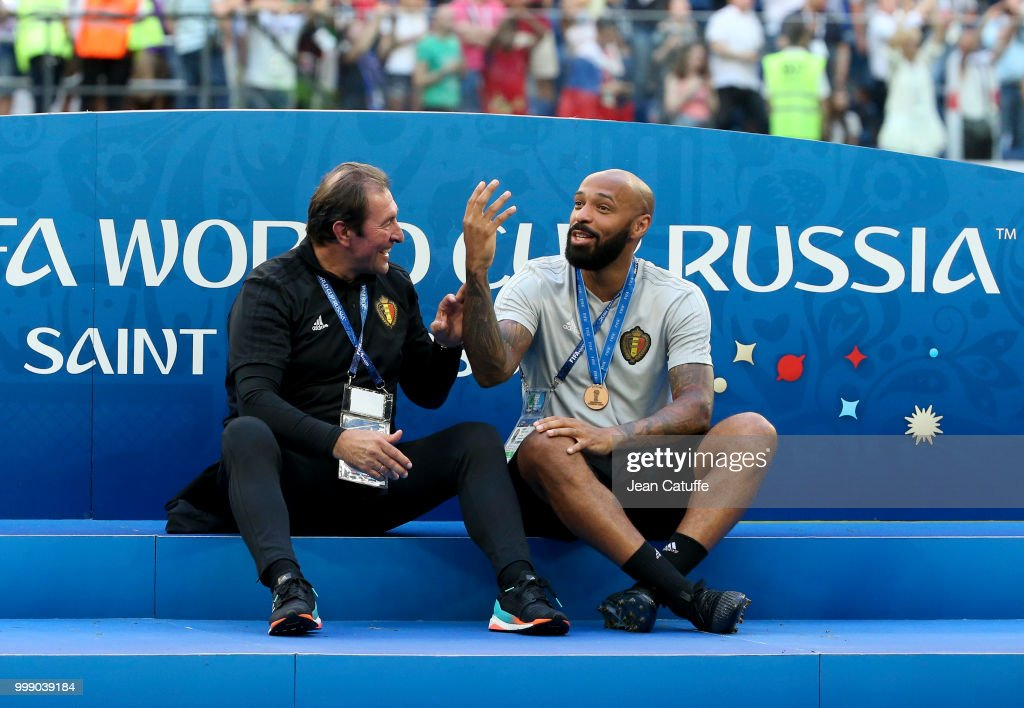 Belgium v England: 3rd Place Playoff - 2018 FIFA World Cup Russia : News Photo