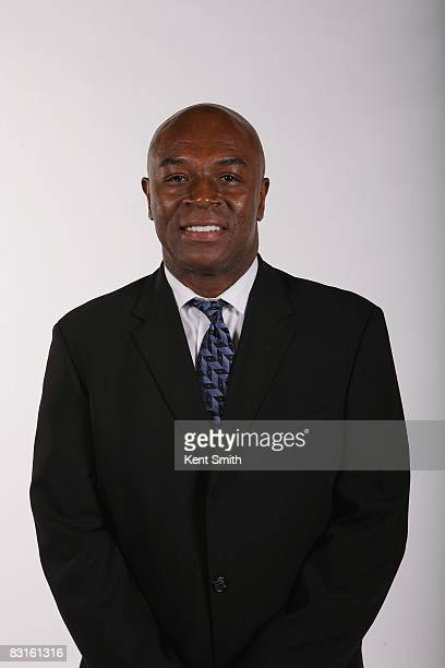 Assistant Coach Phil Ford of the Charlotte Bobcats poses for a portrait during NBA Media Day on September 29 2008 at Time Warner Cable Arena in...