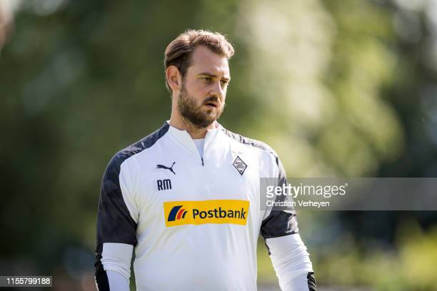 Assistant Coach Rene Maric is seen during a Training session of the Borussia Moenchengladbach Training Camp on July 15 2019 in RottachEgern Germany
