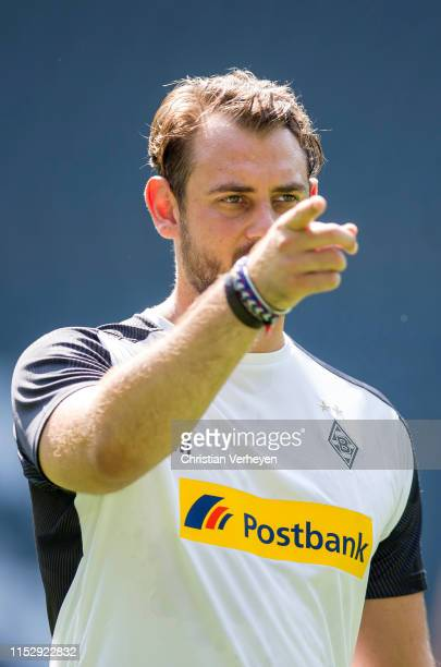 Assistant Coach Rene Maric of Borussia Moenchengladbach during a Training Session of Borussia Moenchengladbach at BorussiaPark on June 30 2019 in...
