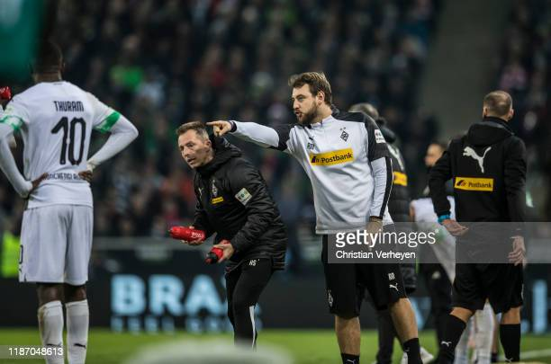 Assistant Coach Rene Maric of Borussia Moenchengladbach in action during the Bundesliga match between Borussia Moenchengladbach and FC Bayern...