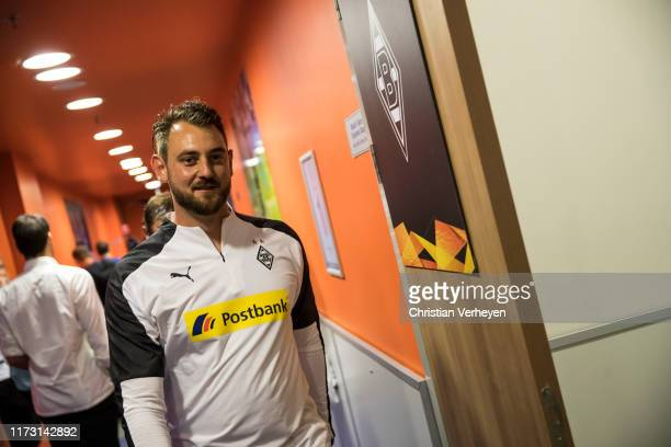 Assistant Coach Rene Maric of Borussia Moenchengladbach is seen during a Training session ahead the UEFA Europa League Group J match between Istanbul...