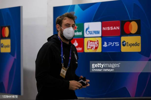 Assistant Coach Rene Maric of Borussia Moenchengladbach is seen before the Group B - UEFA Champions League match between Shakhtar Donetsk and...