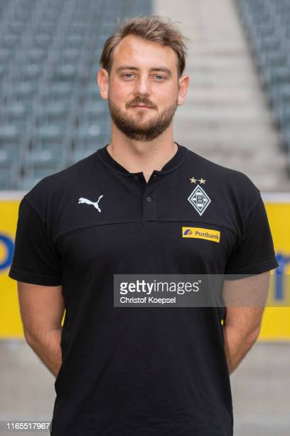 Assistant coach Rene Maric of Borussia Moenchengladbach poses during the team presentation at BorussiaPark on August 01 2019 in Moenchengladbach...