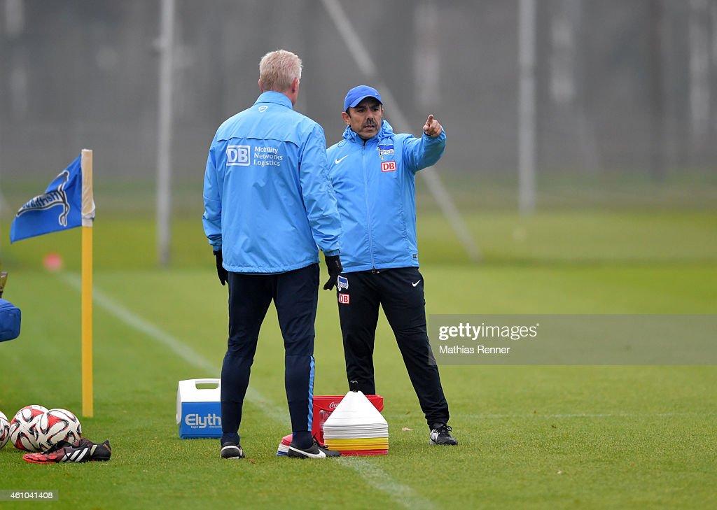 Hertha BSC - Training : News Photo