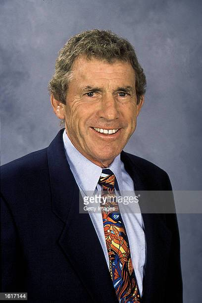 Assistant Coach Roger Neilson of the Ottawa Senators poses for a portrait on September 1, 2002 at the Corel Centre in Ottawa, Canada.