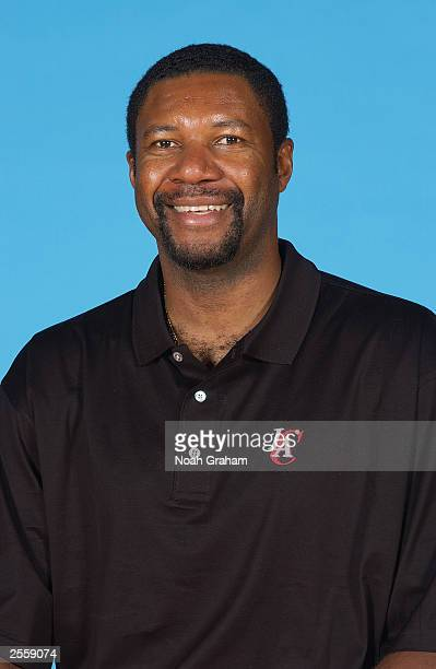 Assistant coach Rory White of the Los Angeles Clippers poses for a portrait during NBA Media Day at Staples Center on September 29 2003 in Los...