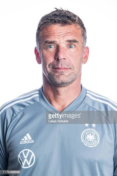 Assistant coach Thomas Pfannkuch poses on August 27 2019 in Tilburg Netherlands