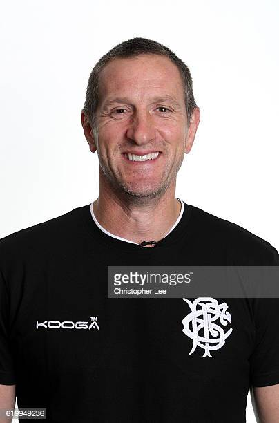Assistant Coach Will Greenwood of the Barbarians poses for a portrait during the Barbarians Squad photo call on November 1 2016 in London England The...
