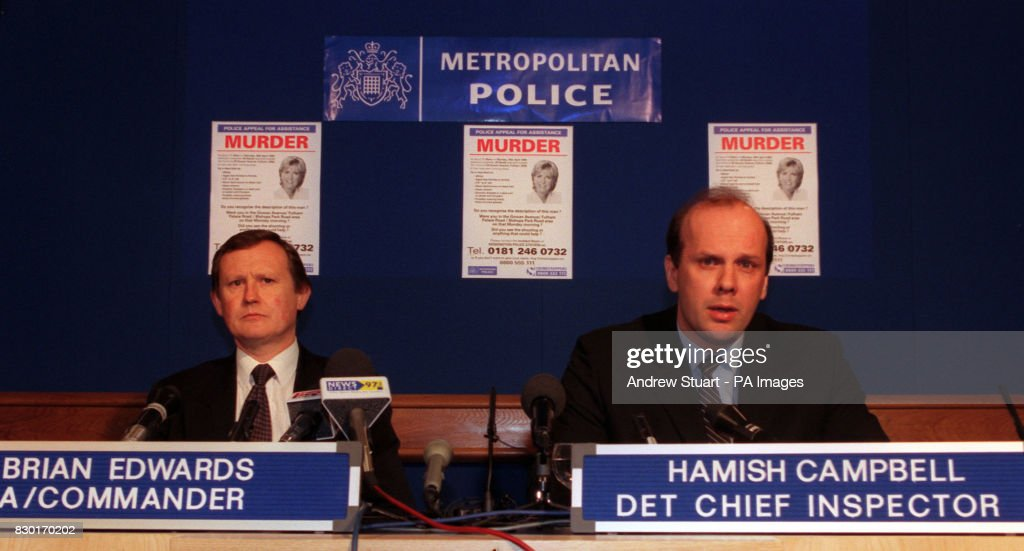 POLICE Dando news conf2 : News Photo