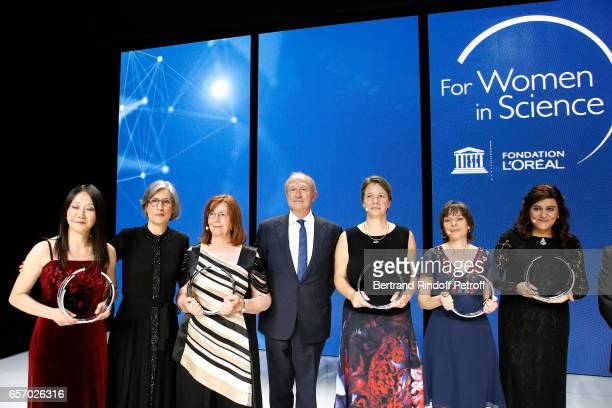 Assistant DirectorGeneral for Natural Sciences Doctor Flavia Schlegl Laureate for Africa and the Arab States Professor Niveen M Khashab Laureate for...