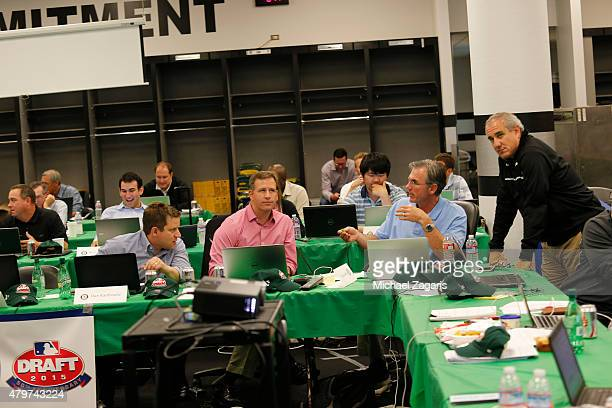 Assistant General Manager Dan Kantrovitz Assistant General Manager David Forst General Manager Billy Beane and Director of Professional...